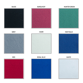 "12oz. Fire Retardant Polyester Velour by Eastern Mills by the Yard - Economy Decorator Grade - 52"" Wide - Choice of Colors"