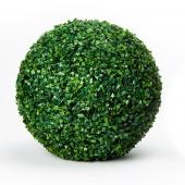 "Decostar™ Artificial Plant Topiary Ball Boxwood Ball 19"" - 6 Pieces"