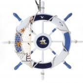 Decostar™ Nautical Wooden Wheel - 6 Pieces