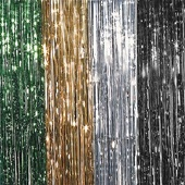 Metallic Shimmer Curtains 4ft!