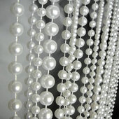DecoStar™ 9ft Pearl Multi Ball Chain Curtain