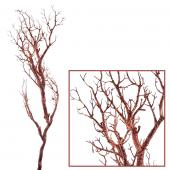 "Decostar™ Manzanita Glitter Tree Branch 47""- Copper - 12 Pieces"