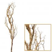 "Decostar™ Manzanita Glitter Tree Branch 47""- Gold - 12 Pieces"