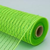 Decostar™ Decorative Lined Poly Mesh Roll - MANY COLOR OPTIONS - 10 Rolls - 21' x 10 YARDS