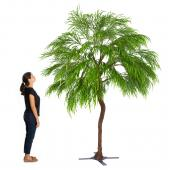 9FT Tall Large Palm Leaf Green Tree