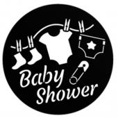 "Baby Shower 1"" Gobo for Eddy Light Gobo Projector"