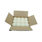 "DecoStar™ Ivory 3"" Puck Floating Candle - Case Of 36"