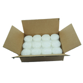 "DecoStar™ White 3"" Puck Floating Candle - Case Of 24"
