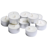 DecoStar™ White 5 Hr Tealight Candle - Box Of 10