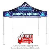 10 ft. Casita Canopy Tent - Heavy Duty - Full-Color UV Print Graphic Package