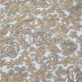 Champagne - Sweetheart Lace Overlay - Many Size Options