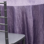 LILAC - *FR* Crushed Taffeta Tablecloth - Many Size Options