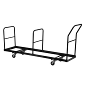 Steel Folding Chair Storage Dolly XL - Fits FeatherXT Folding Chairs
