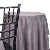 Graphite - Designer Fiesta Linen Broad Tablecloth - Many Size Options
