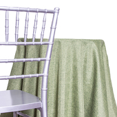 Olive - Designer Fiesta Linen Broad Tablecloth - Many Size Options