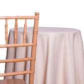Beige - Designer Avila Heavy Linen Broad Tablecloth - Many Size Options