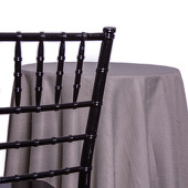 Cement - Designer Heavy Avila Linen Broad Tablecloth - Many Size Options