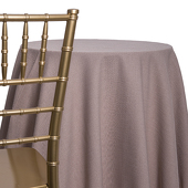Taupe - Designer Heavy Avila Linen Broad Tablecloth - Many Size Options