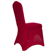 Premium Spandex (Lycra) Banquet & Wedding Chair Cover By Eastern Mills in Apple Red Color