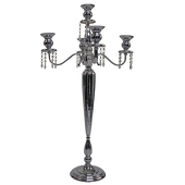 "The Victoria - 39"" Candelabra - Chrome - by DecoStar™"