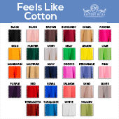"Feels Like Cotton - 100% Polyester - By The Yard -133"" Width"