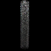 DecoStar™ Double Layered Crystal Silver Chandelier