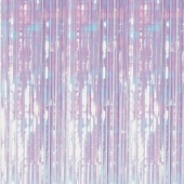 Iridescent Shimmer Curtain 8ft!