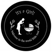 "It's A Girl 1"" Gobo for Eddy Light Gobo Projector"