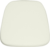 DecoStar™ Soft Ivory Fabric Cushion for Chiavari EnvyChair™