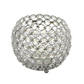 DecoStar™ Crystal Candle Globe / Sphere - Large - 6""