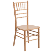 EnvyChair™ Elegant Wood Chiavari Chair - Natural Wood