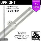 "Pro Series - 12-20ft Telescoping 2"" Upright"