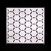 8 x 8ft - Stretch Spandex Atomic Wall w/ Velcro Attachment - Hexagon