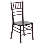 EnvyChair™ Elegant Wood Chiavari Chair - Walnut Wood