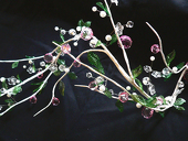 DecoStar™ Large Acrylic Beaded Garland - Pink