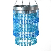 DecoStar™ 2-Tier Cubic Ball Chandelier in Assorted Colors