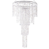 "DecoStar™ Super Large ""Combo"" Crystal Chandelier"
