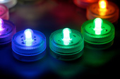 Submersible Floral Lyte - LED Accent Lights w/ on-off switch (10 Pack)