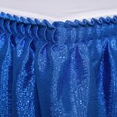 "Table skirt - 17' x 39"" Banjo - Many Color options"