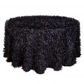 Black - Gatsby Designer Tablecloths - Many Size Options