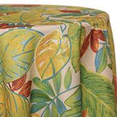 Blue/Green - Fiji Tablecloths - MANY SIZE OPTIONS