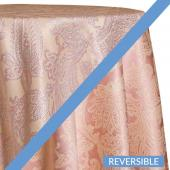 Blush - Martinique Designer Tablecloths - Many Size Options