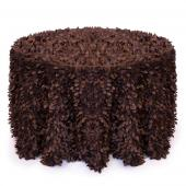 Brown - Gatsby Designer Tablecloths - Many Size Options