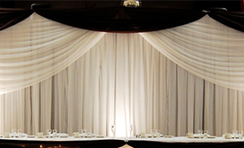 1-Panel Fabric Backdrops