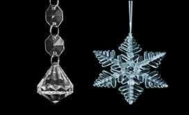 Acrylic Ornamental Drops