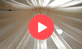 Ceiling and Tent Draping