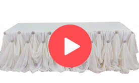 Table Draping and Decor