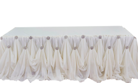 Cinderella Table Skirting Kits