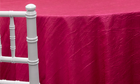 Crushed Taffeta Tablecloths