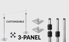 Versatop™ 2.0® 3-Panel Kits (21-36 Feet Wide)